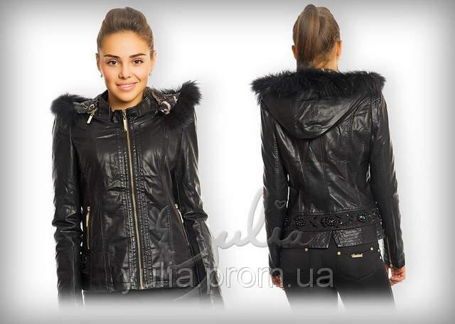 Купить Куртку Из Кожзама